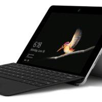 MICROSOFT Surface Go Tablet mit 10 Zoll Display Pentium Gold Prozessor 8 GB RAM 128 GB SSD Intel HD Grafik 615 Silber