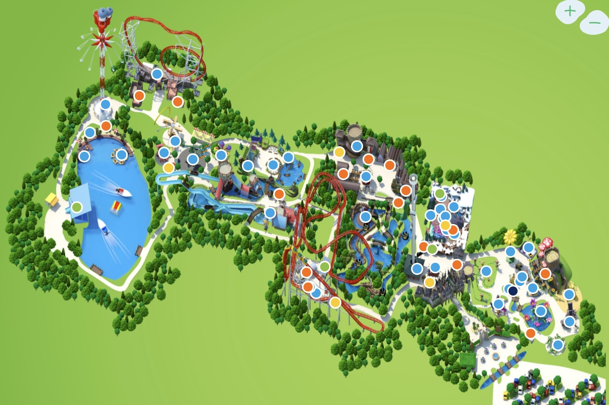 Park map  Holiday Park 2021 07 20