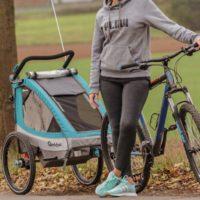 Qeridoo Sportrex2 Kinder Sportwagen  Fahrradanhaenger 2020