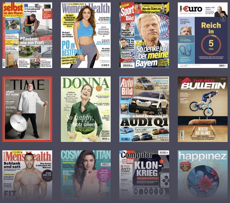 Readly  Alle Zeitschriften und Magazine in einer App 2020 04 01 13 54