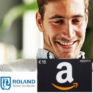 15€ Gutschein für Roland Rechtsschutz-Versicherung ab 15€/Monat 👨⚖️