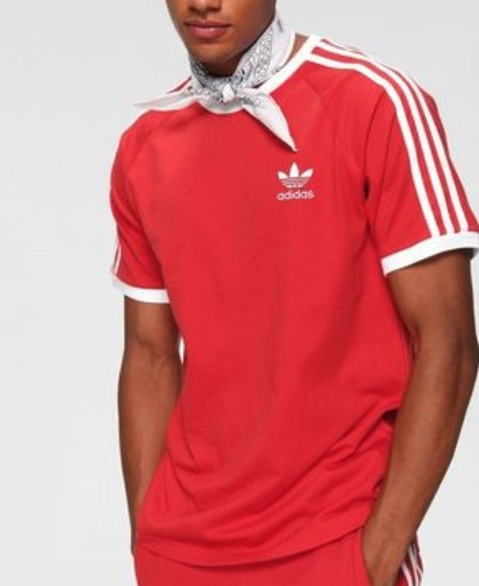 adidas Originals T Shirt 3 STRIPES TEE Raglanaermel