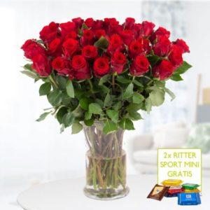 blumenshop-40-rote-rosen-schoki