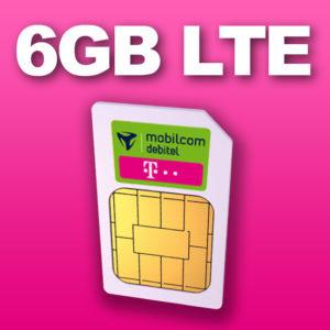 Nur bis 18 Uhr 🚀 Telekom Allnet-Flat + 6GB LTE für 6,99€ mtl. (SIM-Only)