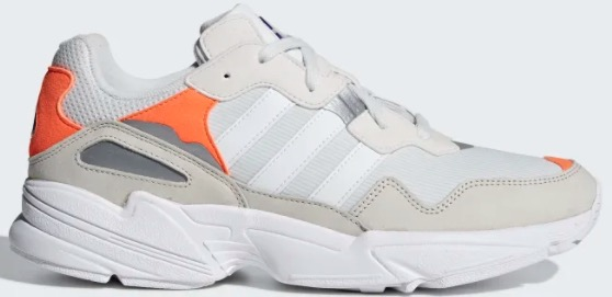 Adidas Yung 96 weiss orange
