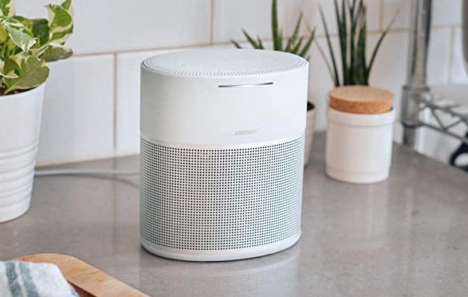 Bose Home Speaker 300 mit integrierter Amazon Alexa Sprachsteuerung silber