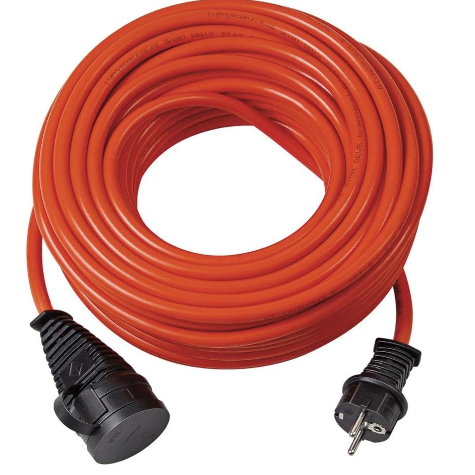 Brennenstuhl BREMAXX Verlaengerungskabel 10m Kabel in orange