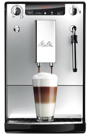 Caffeo Solo  Milk Kaffeevollautomat schwarz silber