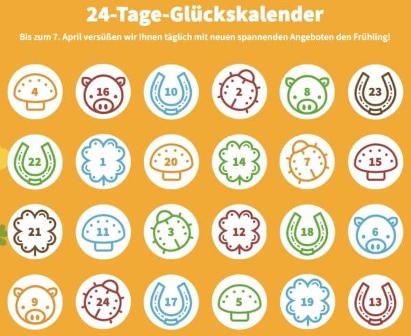 Der Lottohelden Glueckskalender  jeder Tag ein Gluecksmoment 2021 03 15