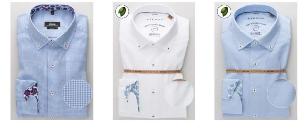 Eterna Slim Hemden 50