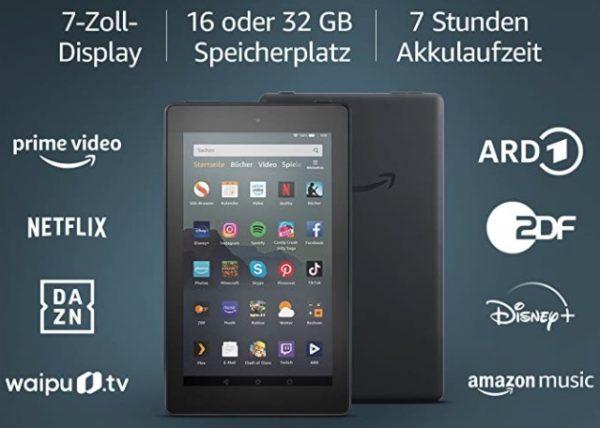 Fire 7-Tablet 7-Zoll-Display 16 GB