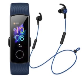 Honor Band 5  Honor Sport Bluetooth Earphones