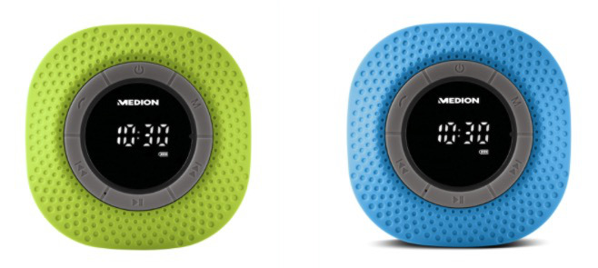 Medion Bluetooth Duschradio P66096 mit 30 Watt  Freisprechfunktion 1