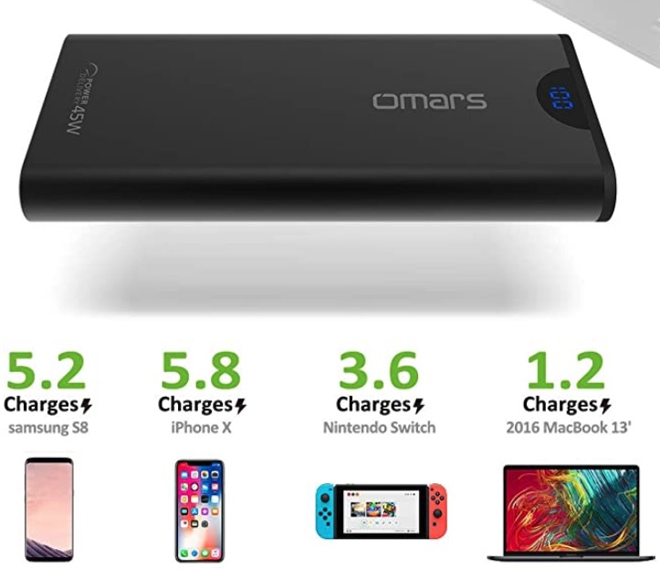 Omars Powerbank  24000mAh