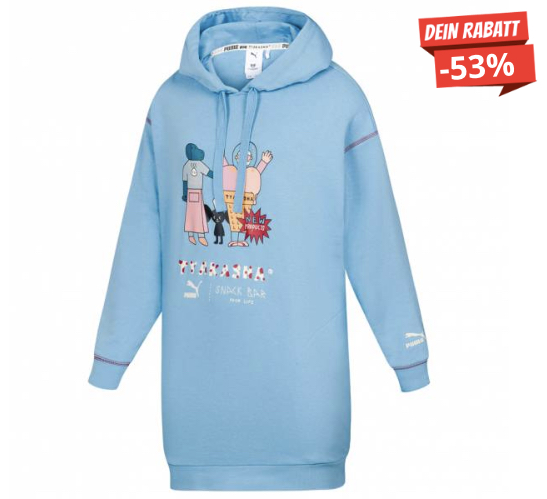 PUMA x TYAKASHA Oversize Damen Sweatshirt Kleid 578427 49  SportSpar 2020 04 02 20 05