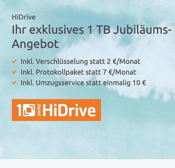 STRATO HiDrive 1 TB 12 Monate 1