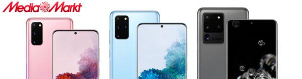 Samsung Galaxy S20 Reihe MediaMarkt Slider