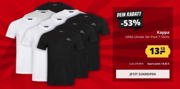 Sportspar Kappe 3x Shirt