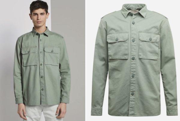 Tom Tailor Denim Herren Hemd Jacke