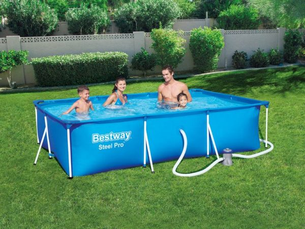 bestway steel pro frame pool set 5