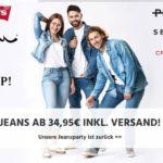 Tipp: div. Marken-Jeans ab 34,95€ 👖💥 + gratis Versand!