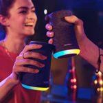 Anker SoundCore Flare Mini BT-Speaker 🎶 mit 360° Sound, 12h Laufzeit und LED-Beleuchtung
