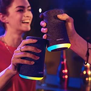 Anker SoundCore Flare Mini BT-Speaker 🎶 mit 12h Laufzeit & LED-Beleuchtung