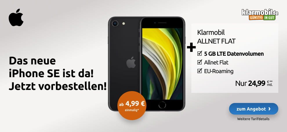 klarmobil apple iphone se 2020 d 200416