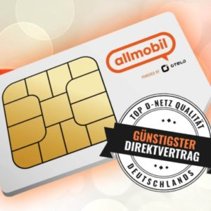 Vodafone 5GB LTE Allnet-Flat für 7,99€ mtl. + 25€ Amazon-Gutschein (mit 50€ RNP-Bonus)