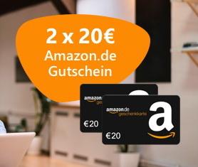 ⚡ *NUR HEUTE* Unbegrenzt 40€ Amazon.de Gutscheine* für Strom + Gas (via Verivox)
