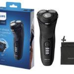 Nur heute: Philips Elektrischer Trocken- & Nassrasierer S3233 👨
