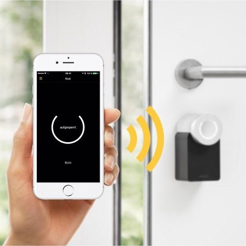 610007 nuki smart lock 2.0   elektronisches t rschloss mit bluetooth und wlan 5 1 6 1