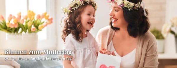 Blumen zum Muttertag bei Blumeideal