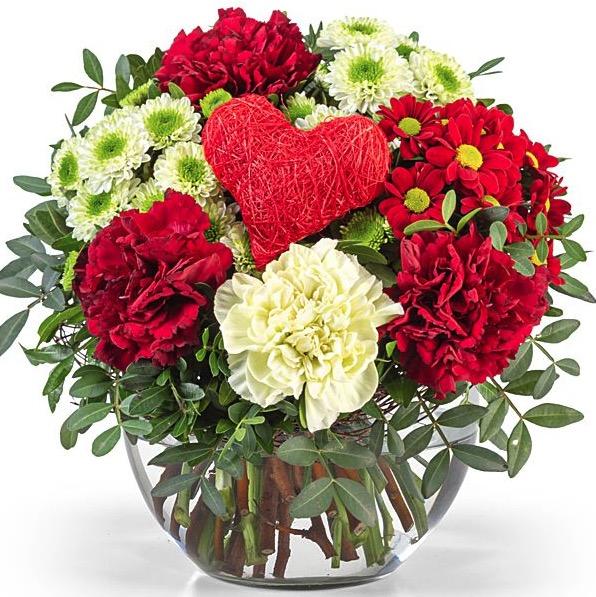 Blumenstrauss Danke liebe Mama