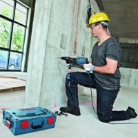 Bosch Professional Bohrhammer GBH 2 28 F 880 Watt Bohr  Beton max 28 mm SDS plus in L BOXX  Beton Hammerbohrer Set 5tlg. SDS plus