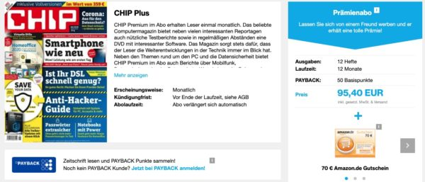 Chip Plus Abo