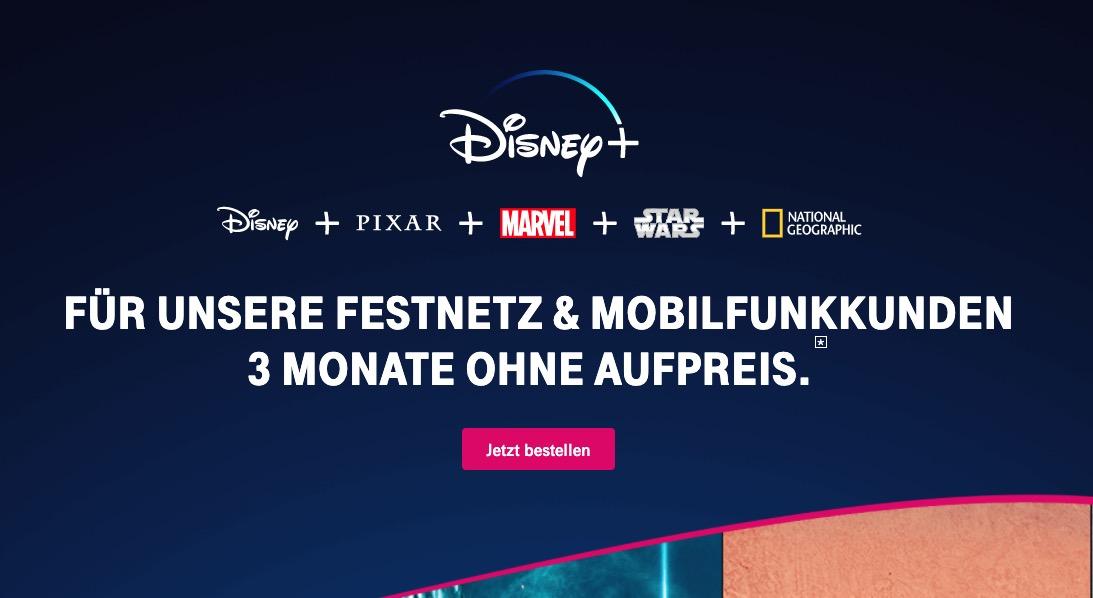 Disney pl fuer Telekom Kunden