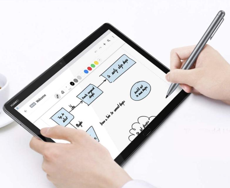MediaPad M5 Lite mit 3GB/32GB Speicher + M-Pen + Flip Cover