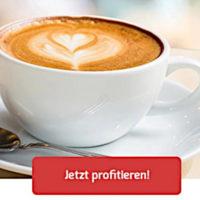 Kaffeevorteil  bis zu 20 Rabatt per Gutschein