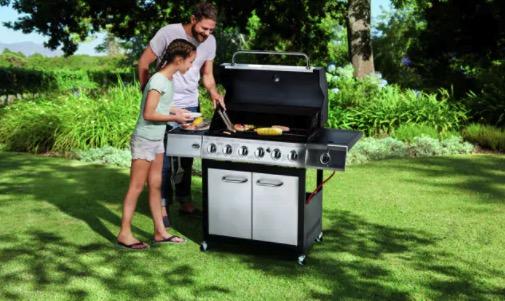 Kamino Big Family BBQ Gasgrill mit Seitenbrennern