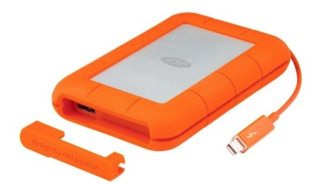 LaCie 5TB Rugged Thunderbolt USB C