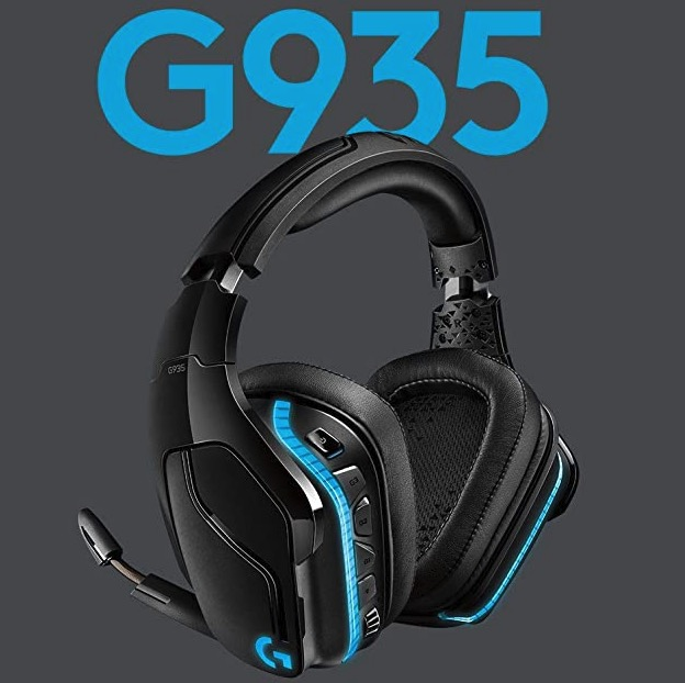 Logitech G935 Wireless RGB Gaming Headset