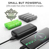 Omars Powerbank mit 10.000mAh USB C  USB A