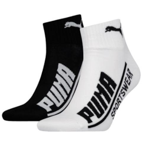 Puma Socken Logo Quarter 24er Pack