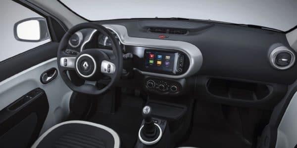 Renault Twingo Limited Autohaus Koenig Leasing innenraum