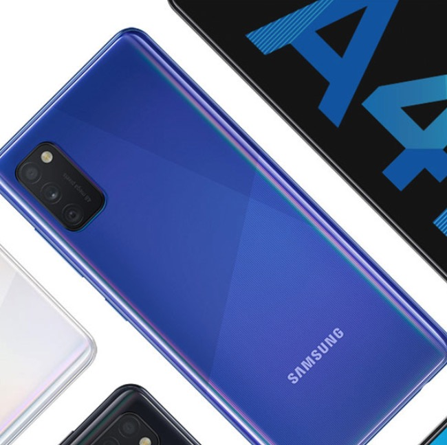 Samsung Galaxy A41 (64GB) mit 6,1'' OLED-Display & Triple-Cam