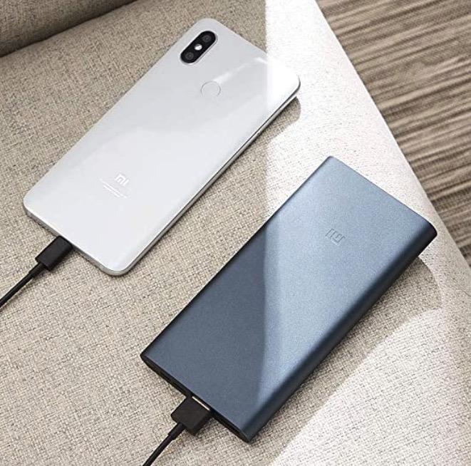 Xiaomi Powerbank 3 mit 10.000 mAh 18W  QC 3.0
