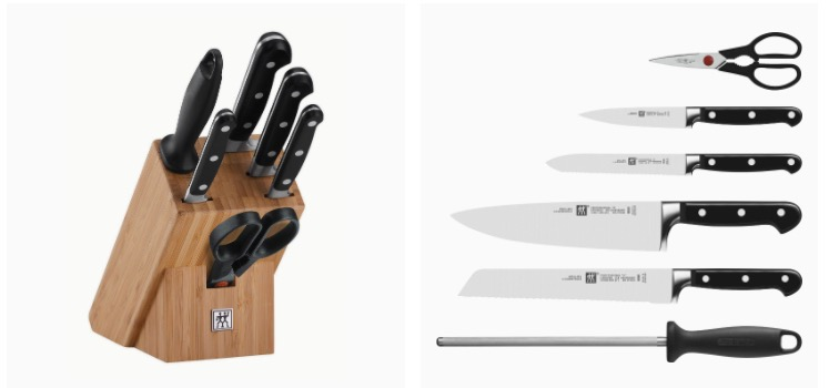 Zwilling 35621 004 0 Professional S Messerblock Bambus 7 teilig