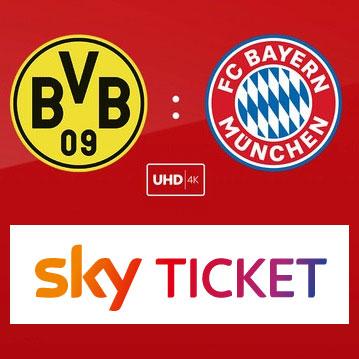 bvb bayern sky ticket