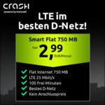 🎉 100 Min + 750MB LTE für 2,99€ im Telekom-Netz (ohne AG)